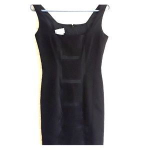 Ann Tjian Kenar Petite black dress size 2